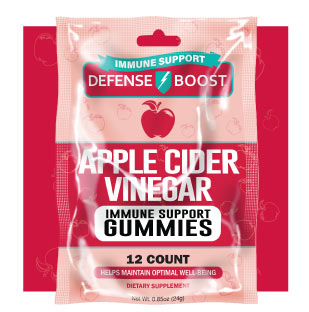 Apple Cider Vinegar Immune Support Gummies