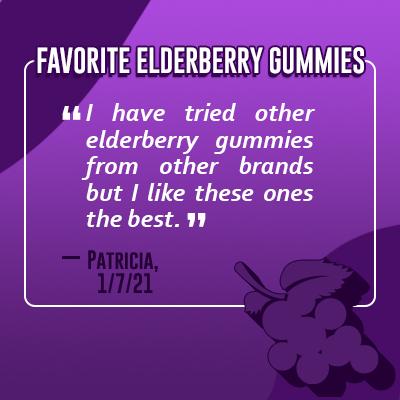 Elderberry Gummies Customer Review